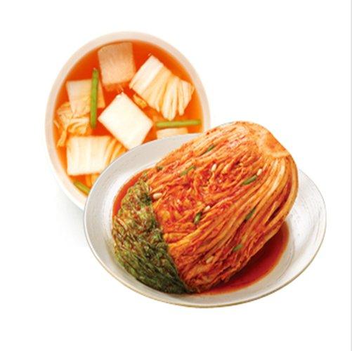 아워홈 손수담은 아삭포기김치(5kg)+나박김치(3kg)